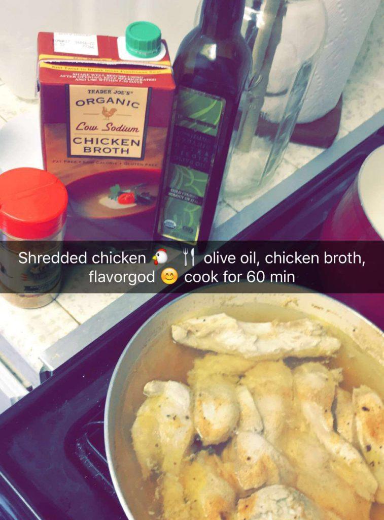 shredded-chicken-snapchat