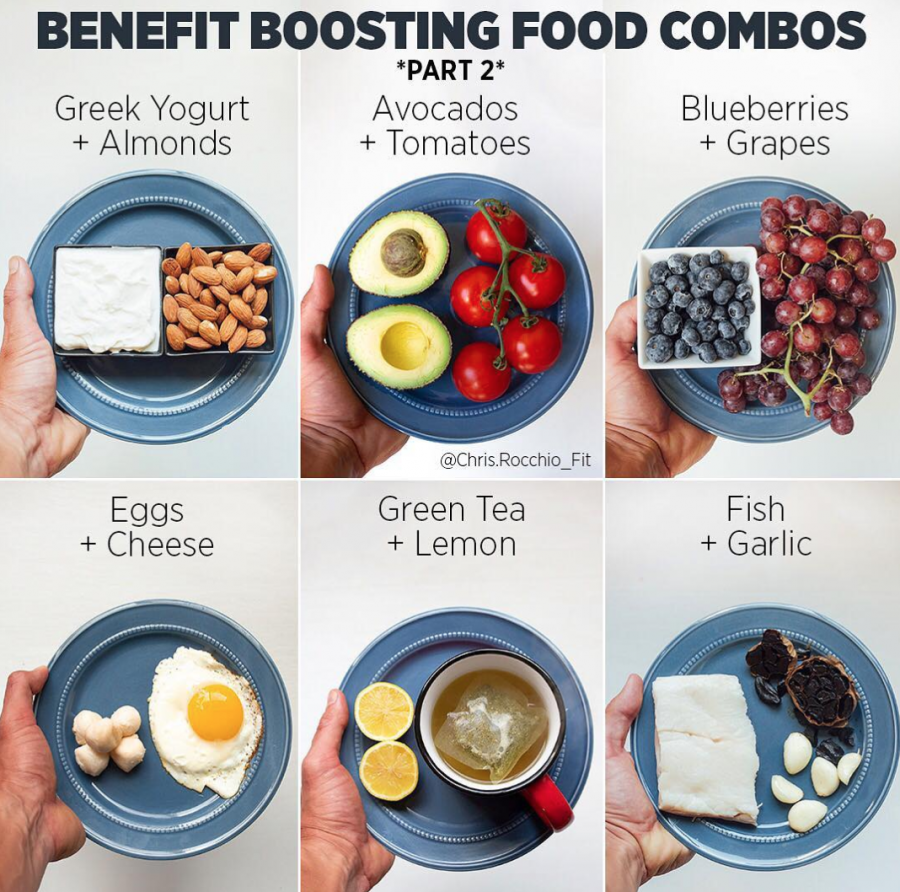 benefit boosting healthy food combinations that make you look and feel great.
