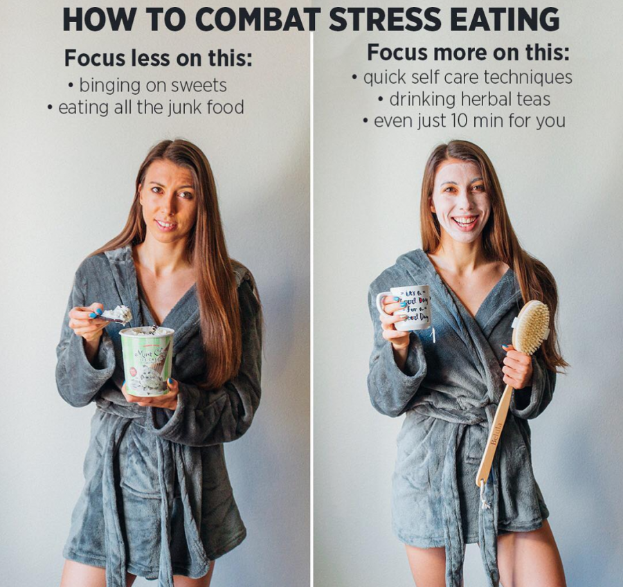 swap stress eating for healthy habits