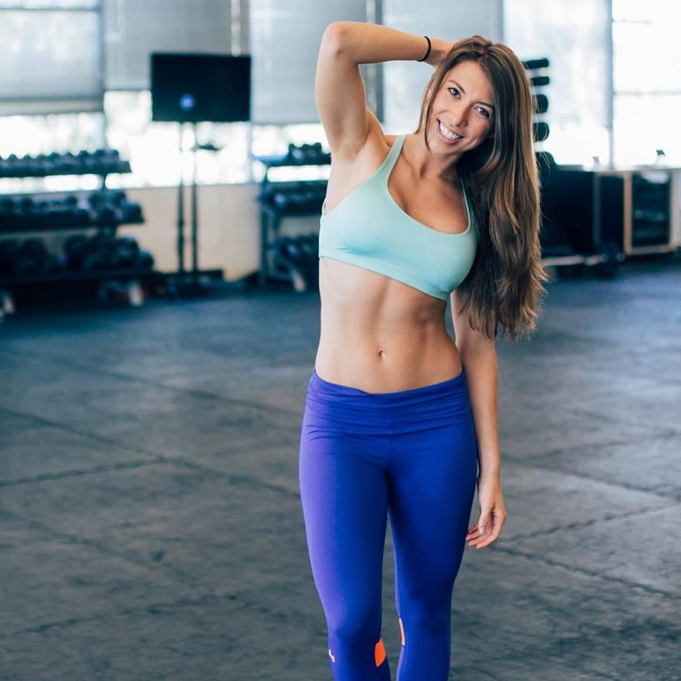 Amanda in the gym