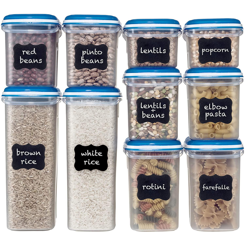 Shazo Food Storage for Pantry Items