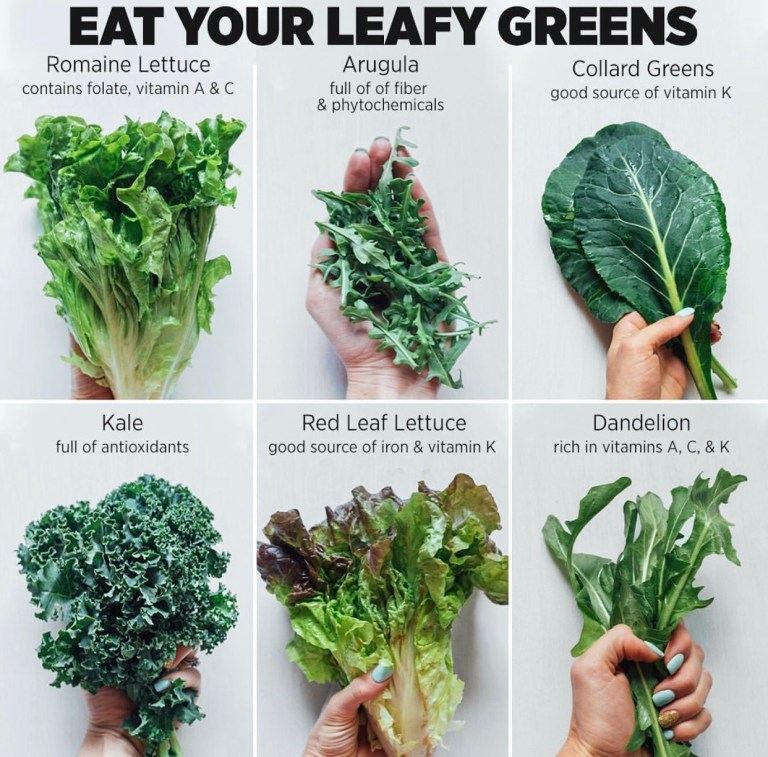 Eat Your Leafy Greens