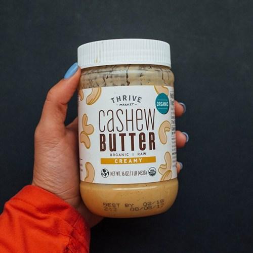 Cashew Butter from Thrive Market