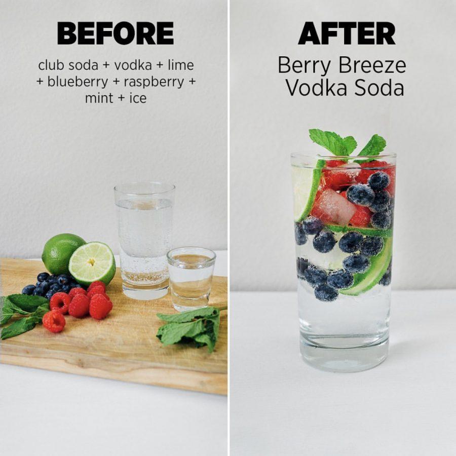 healthier alcoholic beverage