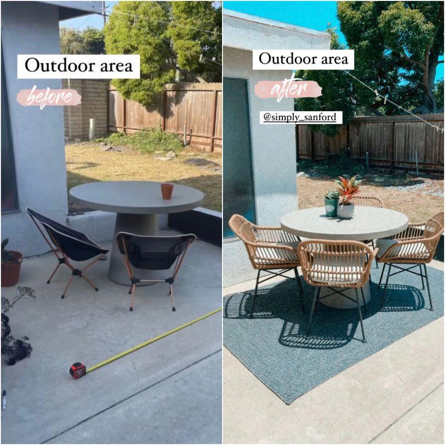 home decor - outdoor area