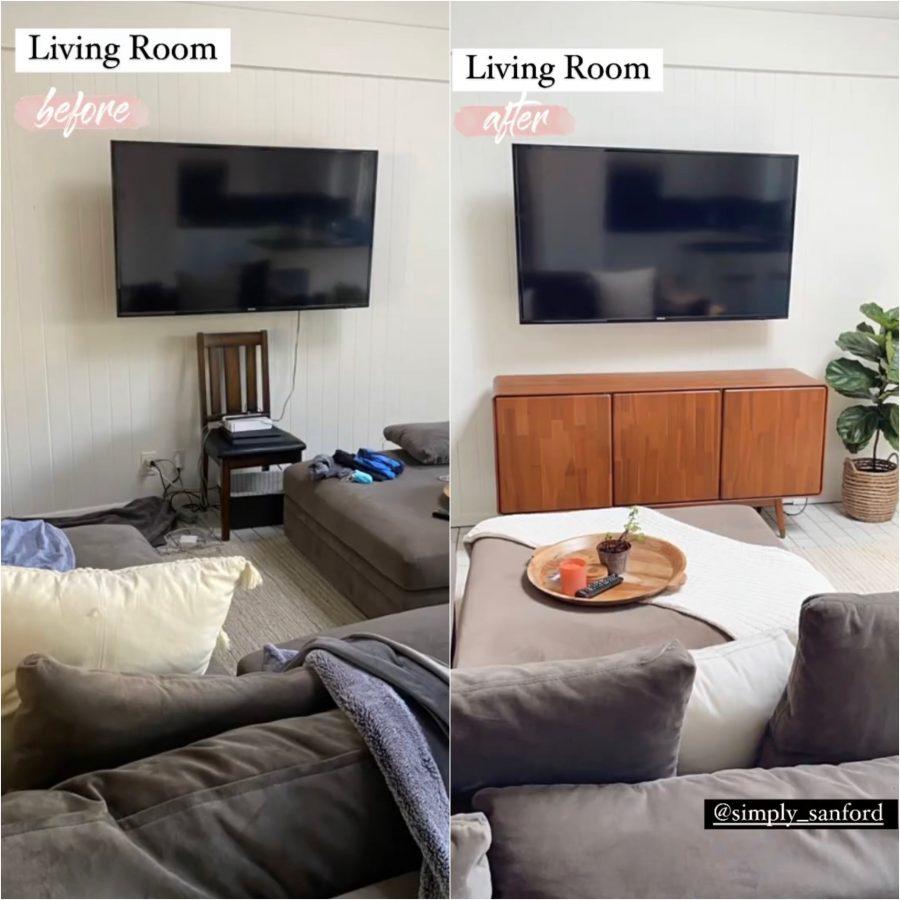 home decor - the living room